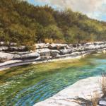 Bull Creek II 24 x 36 Oil $3500