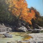 Lost Maples 20 x 20 Oil $2875
