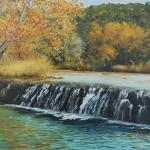 Autumn on Bull Creek Oil $775