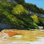 Summertime on Barton Creek Oil $745