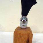 Black Horse Head Wine Stopper Bronze $75 Stand sold separately $10