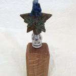 Bluebonnet Wine Stopper Bronze $75 Wooden Stand sold separately $10