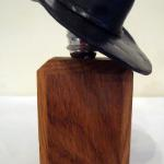 Hat Wine Stopper - Black Bronze $75 Stand sold separately $10