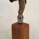 Horse Bottle Stop (Buckskin) Bronze $75 Stand sold separately $10