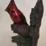 Lost Pines Cardinal (front view) Bronze $1600