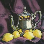 Teatime 23 X 23 Watercolor $600