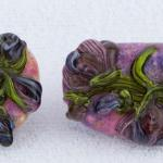 Art Nouveau Floral Series #2 Earrings $197  PEE080