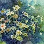 Daisy Bouquet Watercolor batik $395