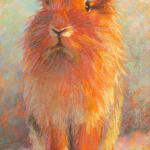 Honey Bunny 12 x 6 Pastel