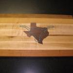 Texas Longhorn Cutting Board