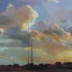 On the Road - First Place Linda Dellandre 12 x 24 Pastel  $1200
