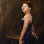 A Nod to Madam X Sonja A. Kever 20 x 16 Oil on Panel  $1950