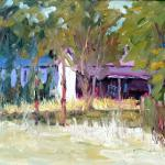 Old Shed Original oil painting 16 x 20 $700