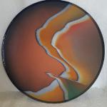 "Medium Platter in Terre Cotta 19"" Ceramic #274 $260"