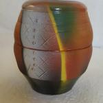 Med. Vase Yellow and Green $75