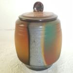 "Lidded Vessel 7"" tall x 5"" wide #170 $45"
