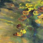 Pond in February 24 x 18 Pastel $1850